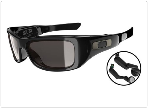 e6604a73dea79 Oakley lança novos óculos tocadores de MP3 - Hardware.com.br