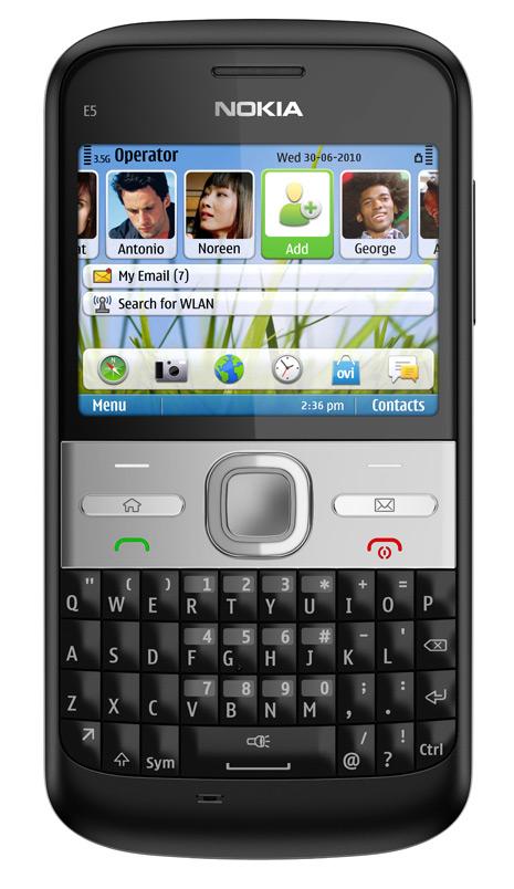 Nokia E5: Mais um mensageiro de baixo custo - Hardware com br
