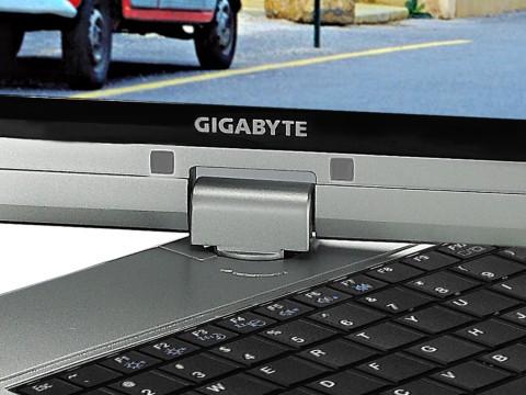 Sistema de base giratória do netbook/tablet.