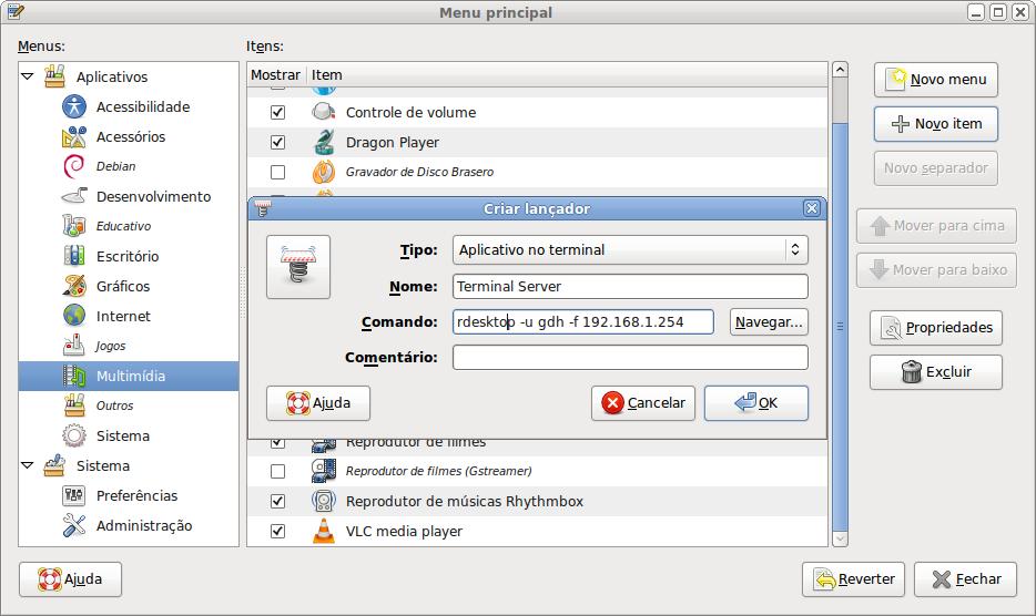 Configurando o GNOME - Hardware com br