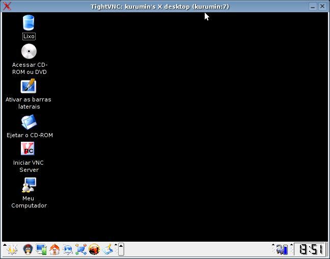 Usando o VNCserver - Hardware com br