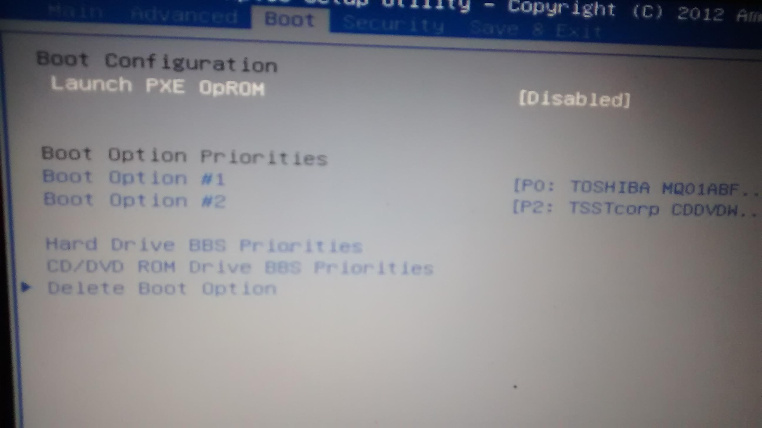 Insydeh20 Setup Utility Hp Usb Boot