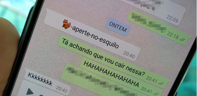 A verdade sobre o link do esquilo que trava o WhatsApp no Android