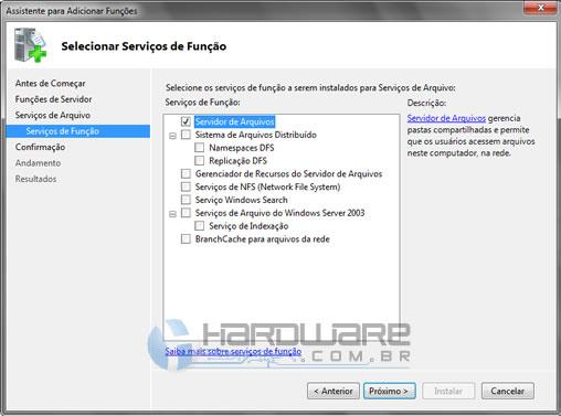 Tutorial: Instalação e configuração do Servidor de Arquivos
