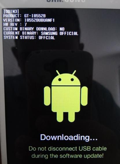 Resolvido - Problemas na inicialização do Samsung Galaxy Win Duos
