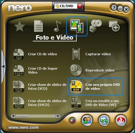 CD DVD BAIXAR NERO E GRAVAR DE PROGRAMA