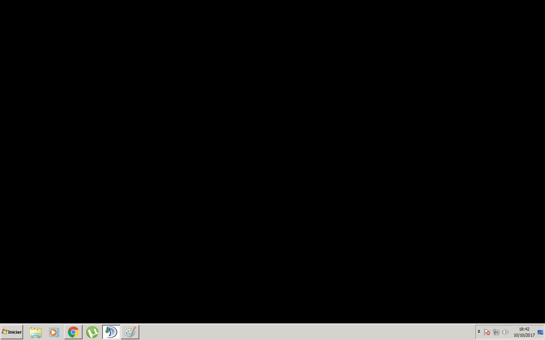 jogo fica em tela preta